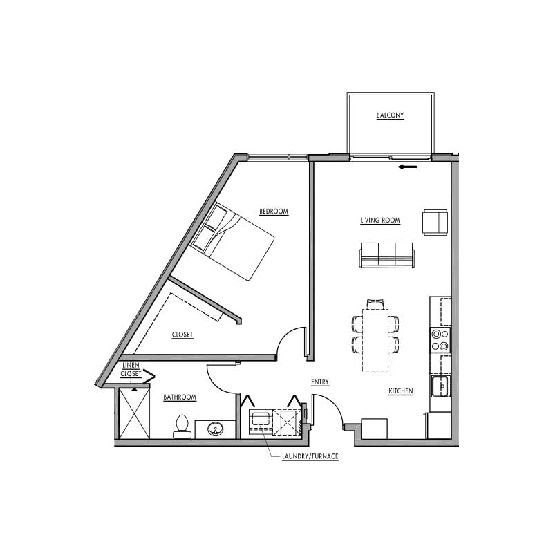 Floor plan e dwell bay for Dwell floor plans