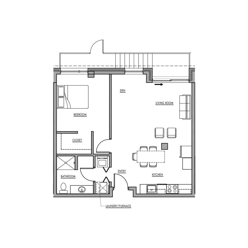 Floor Plan F Dwell Bay