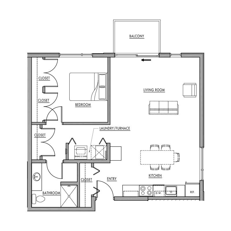 Floor plan g dwell bay for Dwell floor plans
