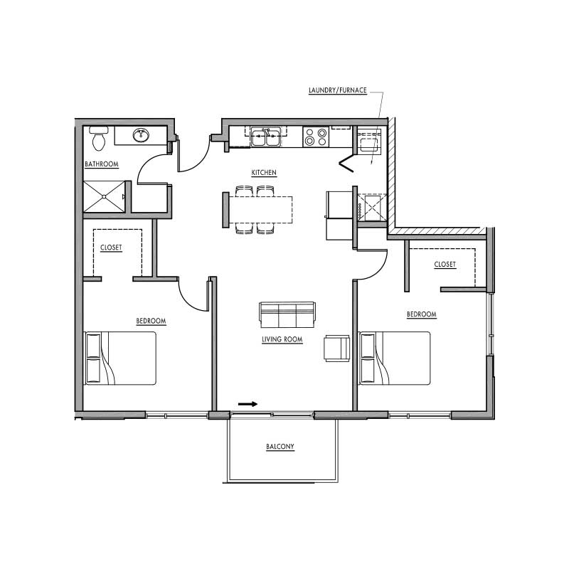 Floor Plan H Dwell Bay
