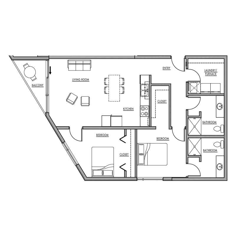 Floor Plan J Dwell Bay