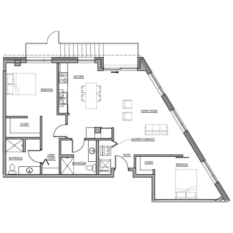 Floor Plan N Dwell Bay
